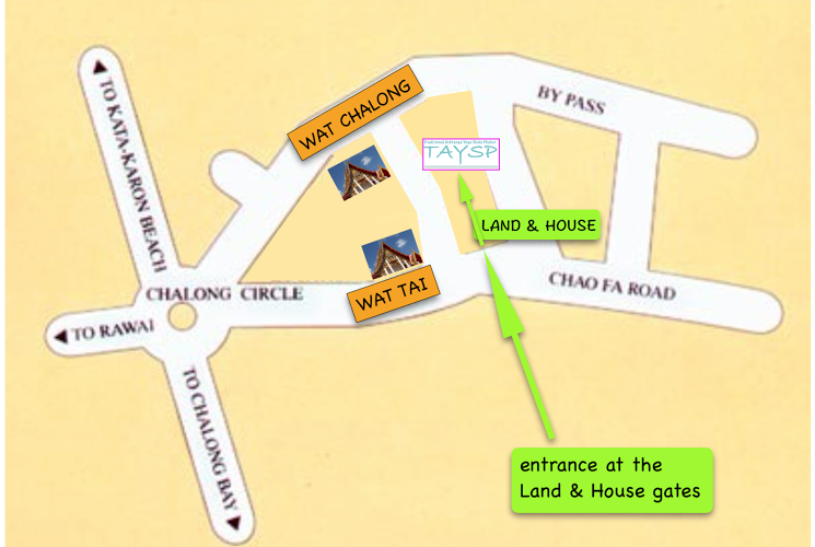 Maps Taysp Phuket